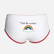 Cute Taste the rainbow Women's Boy Brief