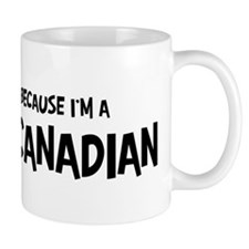 French Canadian - Do not Hate Small Small Mug