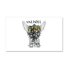 Valhöll Viking Warrior Car Magnet 20 x 12