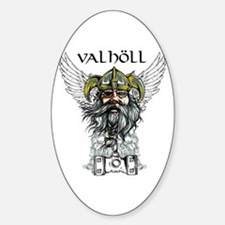 Valhöll Viking Warrior Decal