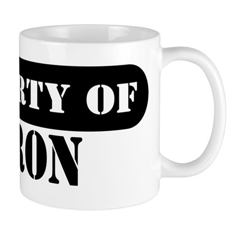 Property of Aaron Mug