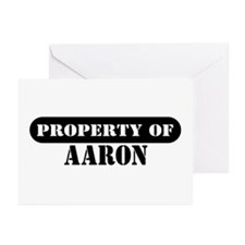 Property of Aaron Greeting Cards (Pk of 10)