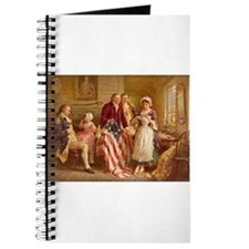 Betsy Ross Designing The Tea Party Flag Journal