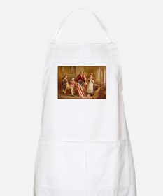 Betsy Ross Designing The Tea Party Flag Apron