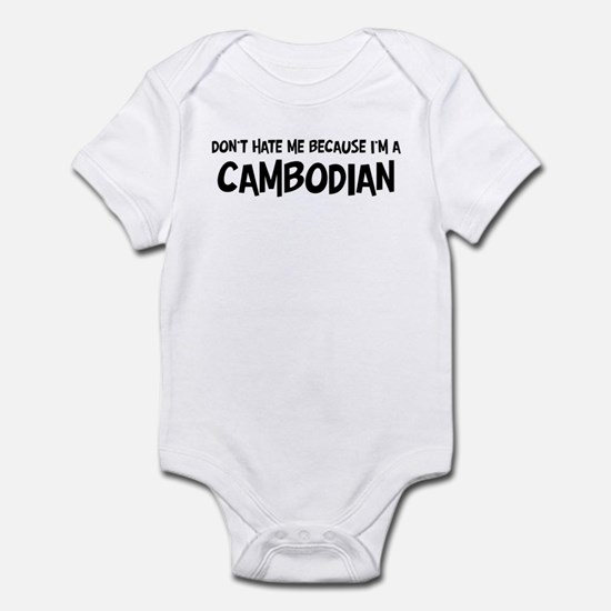 Cambodian - Do not Hate Me Infant Bodysuit