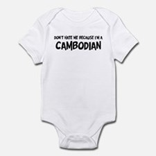 Cambodian - Do not Hate Me Onesie