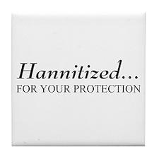 Hannitized Tile Coaster