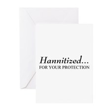 Hannitized Greeting Cards (Pk of 10)