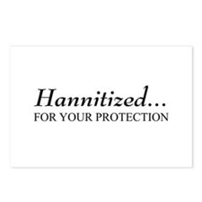 Hannitized Postcards (Package of 8)