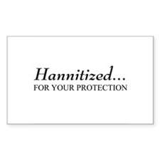 Hannitized Rectangle Decal