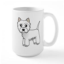 Cute Westie Dog Mugs