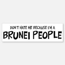 Brunei people - Do not Hate M Bumper Bumper Bumper Sticker