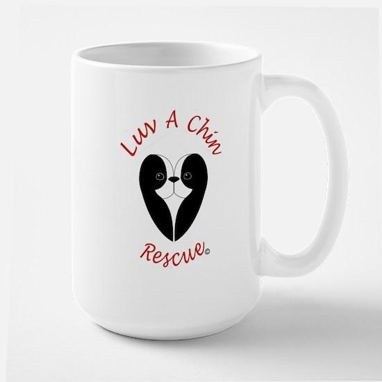Luv A Chin Logo Mugs