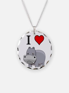 Hippopotamus,  Necklace