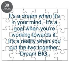 Dream + Goal = Reality Puzzle