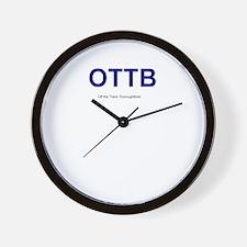 OTTB 2 Wall Clock