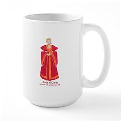 Anne of Cleves Large Beverage Mug