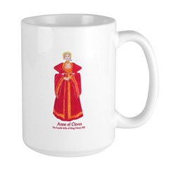 Anne of Cleves Large Beverage Mug