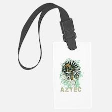 Aztec Warrior Skull Luggage Tag