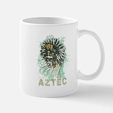 Aztec Warrior Skull Mug