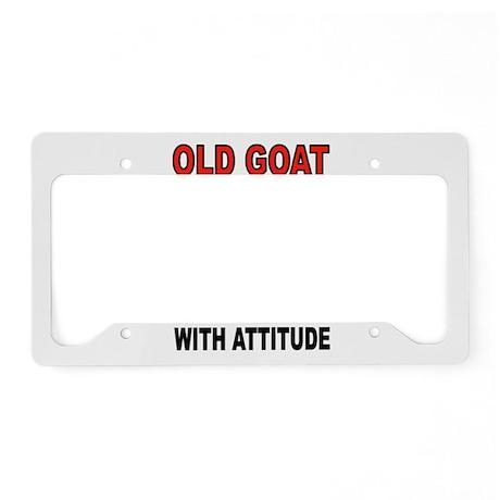 OLD GOAT License Plate Holder