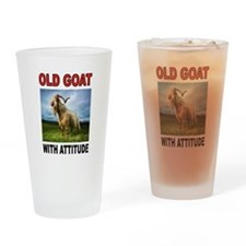 OLD GOAT Drinking Glass