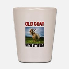 OLD GOAT Shot Glass