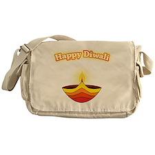 Happy Diwali Messenger Bag