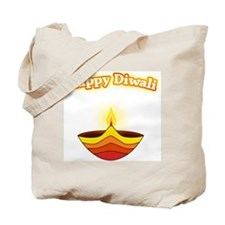 Happy Diwali Tote Bag