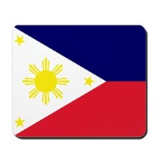 Flag Philippines Mousepad