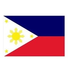Flag Philippines Postcards (Package of 8)