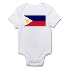 Flag Philippines Infant Bodysuit