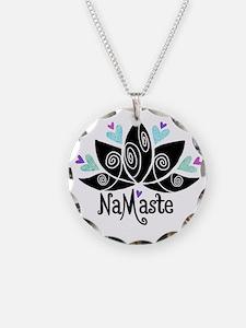 Namaste Lotus Color Necklace