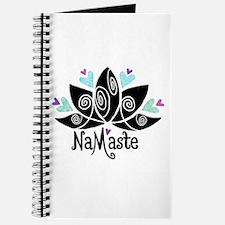Namaste Lotus Color Journal
