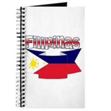 Philippines flag ribbon Journal
