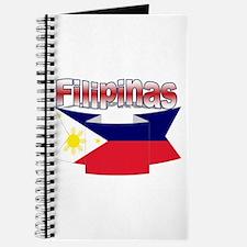 Philippines flag ribbon Journal