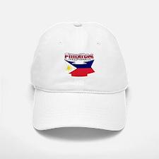 Philippines flag ribbon Baseball Baseball Cap