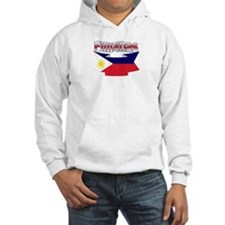 Philippines flag ribbon Jumper Hoody