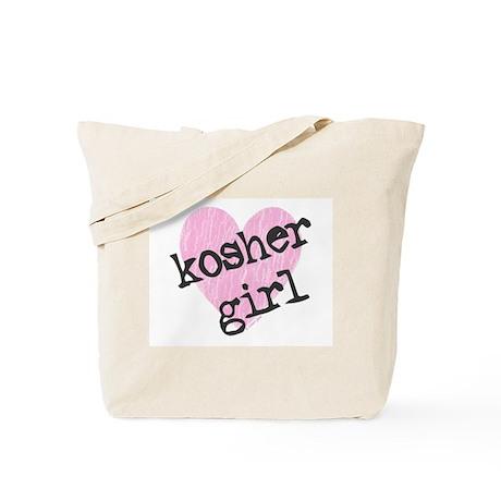 Kosher Girl Tote Bag