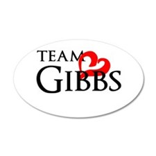 Team Gibbs Wall Decal
