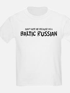 Baltic Russian - Do not Hate  Kids T-Shirt
