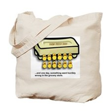 Easter Egg Mishap Tote Bag