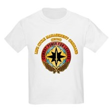 Life Cycle Mgmt Cmd - CECOM with Text T-Shirt