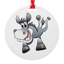 Cartoon Donkey Ornament