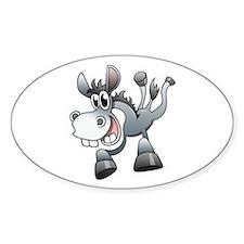 Cartoon Donkey Decal