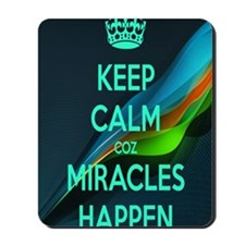 Miracles Mousepad
