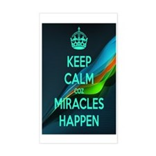 Miracles Decal