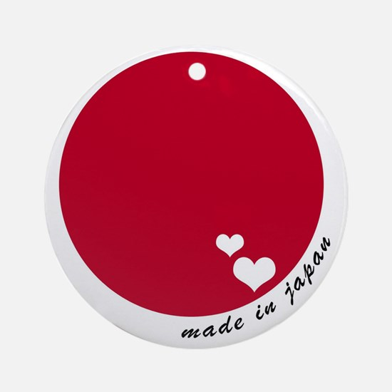 Were you made in Japan? Round Ornament