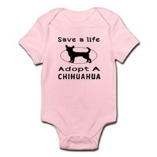 Adopt A Chihuahua Dog Infant Bodysuit