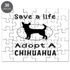 Adopt A Chihuahua Dog Puzzle